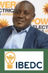 Jude  Ugwuoke at Power & Electricity World Africa