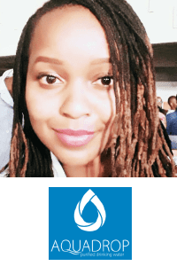 Yvonne Nkatha speaking at The Water Show Africa