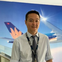 Phuong Nguyen The at Aviation Festival Asia 2020