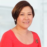 Ms Stella L Cabalatungan at Private Banking Asia 2015