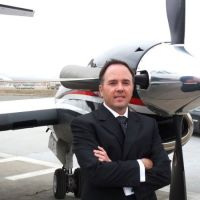 René Armas Maes at Aviation IT Show Americas