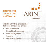 Arint at Energy Storage Africa 2016