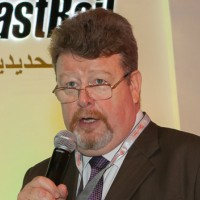 Mr Stephen Lines at Middle East Rail 2017