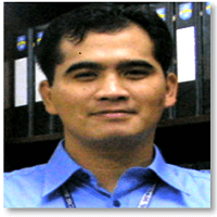 Mr P Marlon C Valencia at EduTECH Philippines 2017