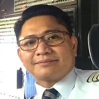 Capt Rollie Ching at Aviation Festival Asia 2017