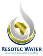 Resotec Water at Power & Electricity World Africa 2017