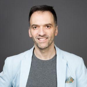 Elliot Goykhman speaking at Seamless