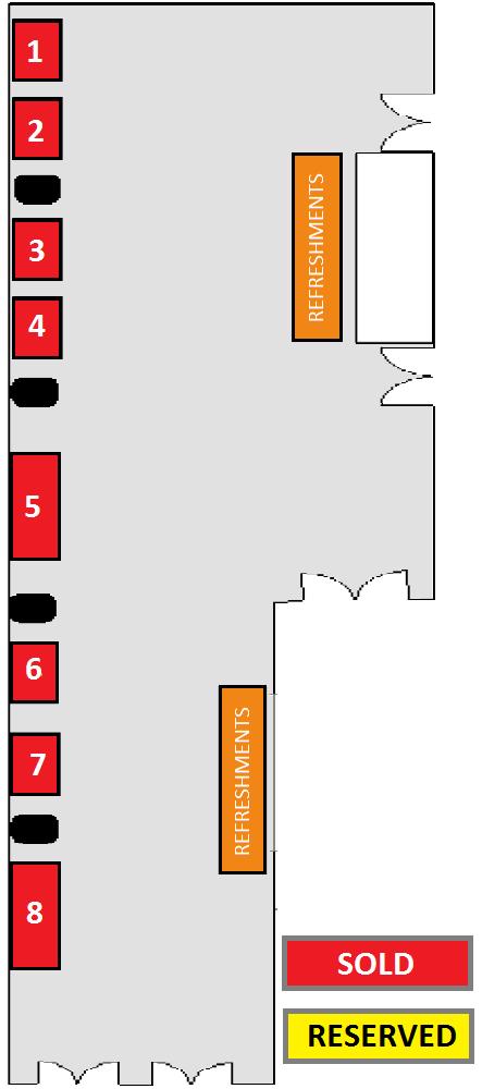 Wealth 2.0 floor plan 2017