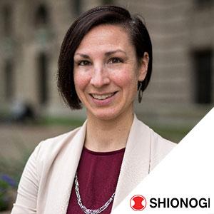 Monika Scheider speaking at World Anti-Microbial Resistance Congress 2021