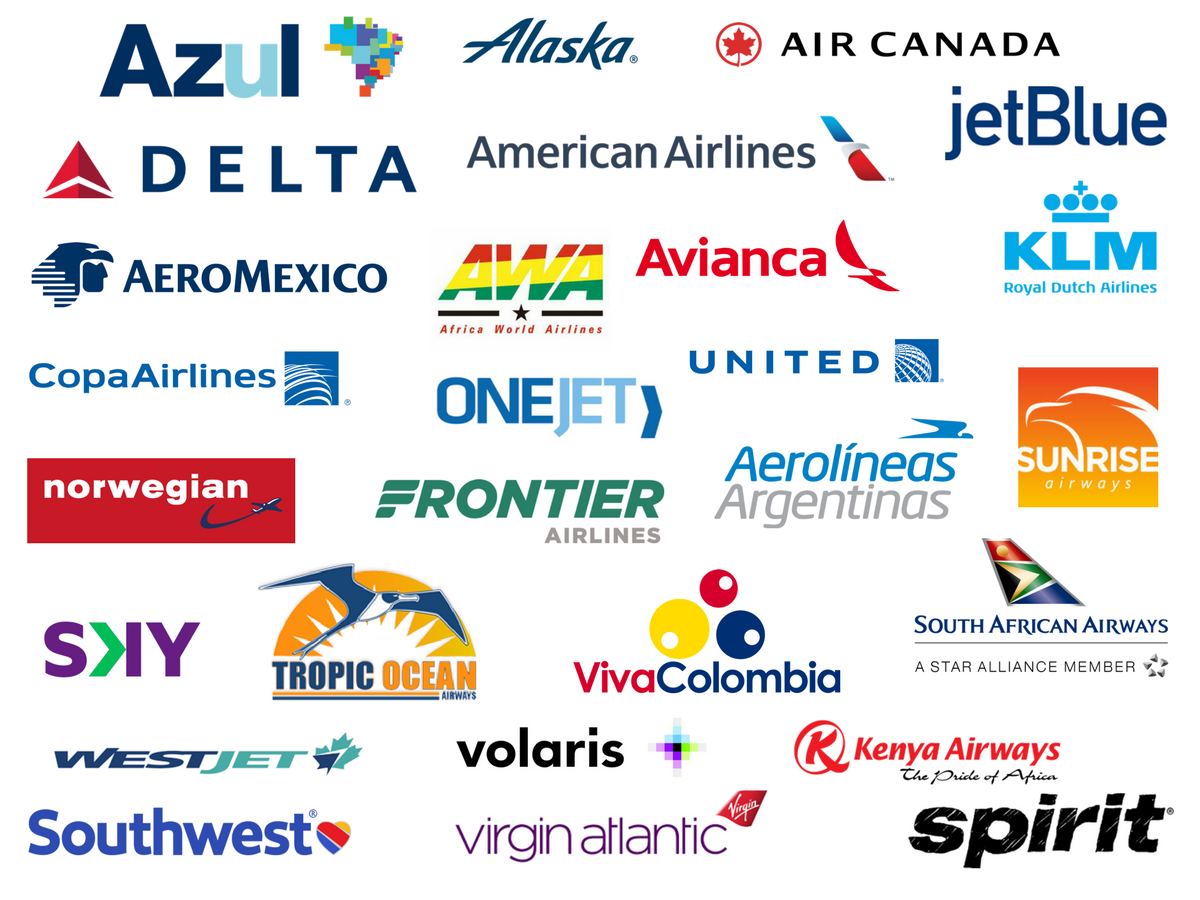 Attending airlines