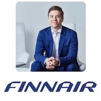 Rogier van Enk, Finnair
