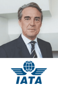 Alexandre De Juniac,  CEO of  IATA speaking at Aviation Festival