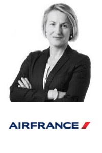 Anne Rigail,  CEO of  Air France speaking at Aviation Festival