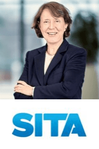 Barbara Dalibard,  CEO of  SITA speaking at Aviation Festival