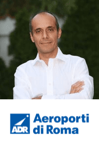Emiliano Sorrenti,  CIO of  Aeroporti di Romaspeaking at Aviation Festival