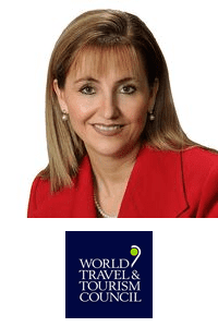 Gloria Guevara Manzo,  President & CEO of  World Travel & Tourism Council (WTTC)speaking at Aviation Festival