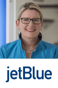 Joanna Geraghty,  President and COO of  JetBlue  speaking at Aviation Festival