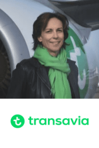 Nathalie Stubler,  CEO of  Transavia France speaking at Aviation Festival