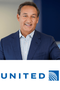 Oscar Munoz speaking at Aviation Festival