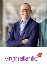 Shai Weiss,  CEO of  Virgin Atlantic  speaking at Aviation Festival