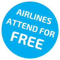Airlines attend for free