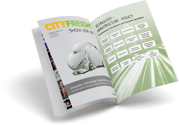 City Freight Show USA sponsorship brochure