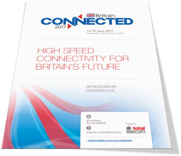 Connected Britain 2017 sponsorship prospectus