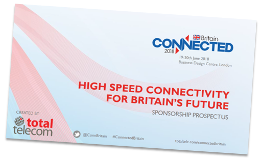Connected Britain 2017 sponsorship prospectus