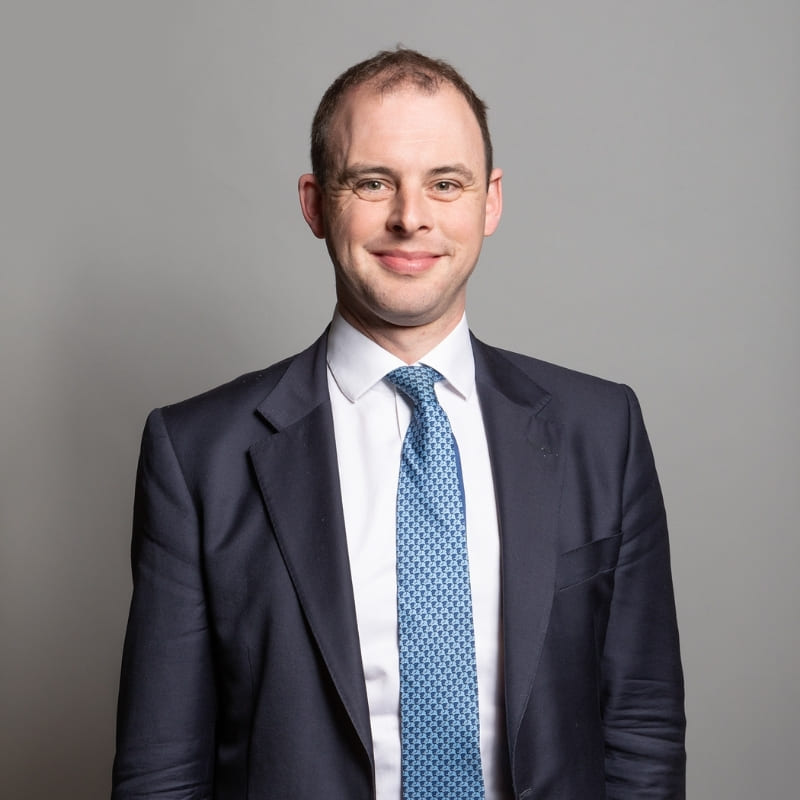 Matt Warman MP speaking at Connected Britain