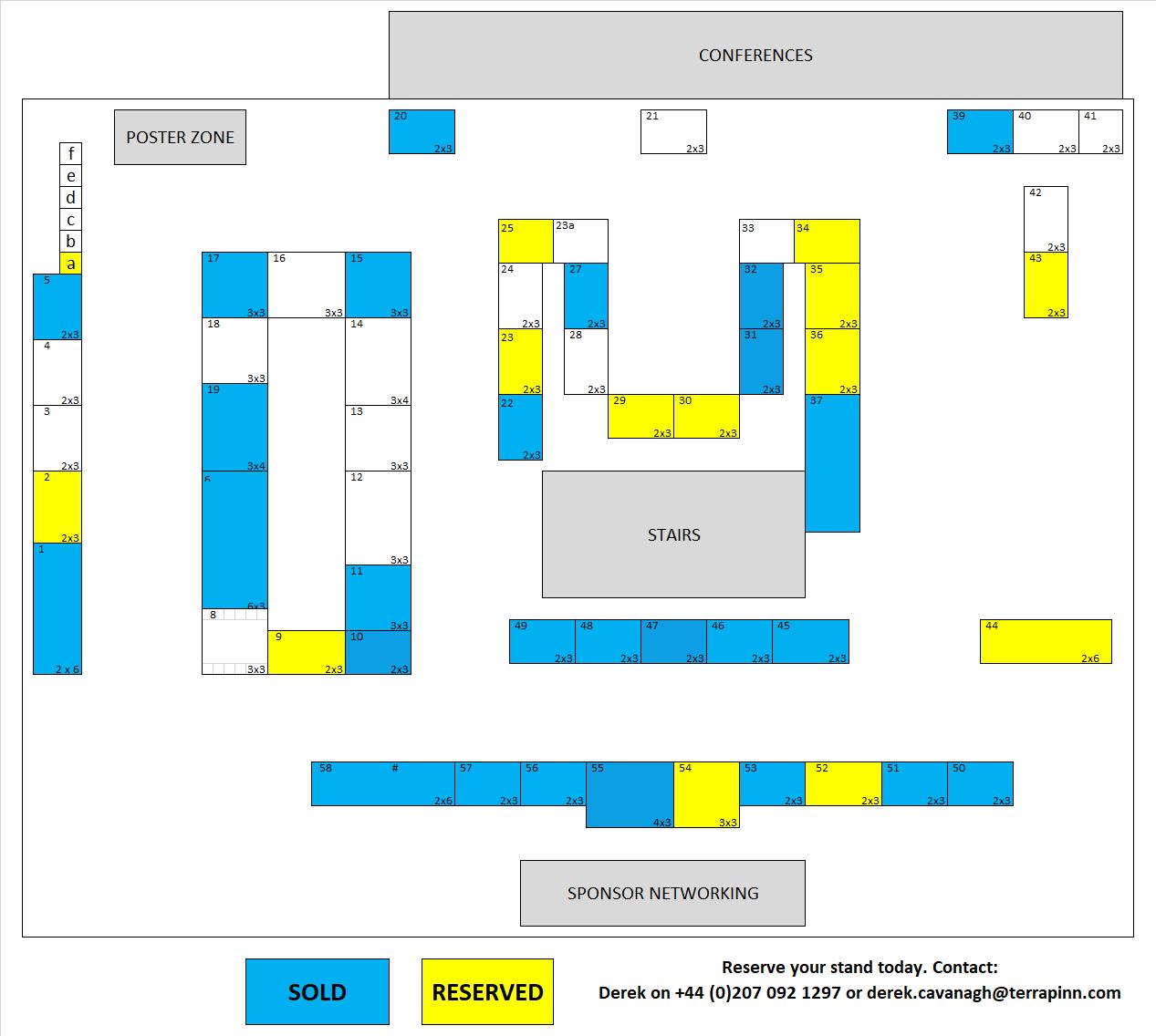 European Antibody Congress 2018 Floor Plan