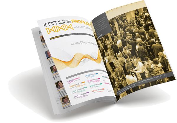 Immune Profiling Congress US 2018 brochure cover