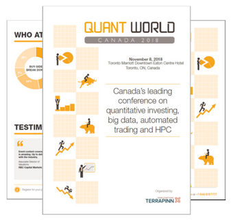Quant World Canada sponsorship brochure
