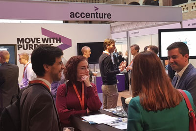 Delegates at the World Rail Festival event in Amsterdam, Netherlands