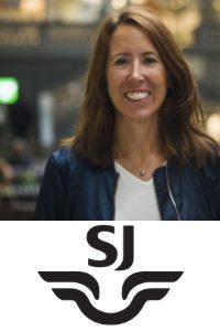 Jenny Gejke, Head of Digital Channel Development, SJ