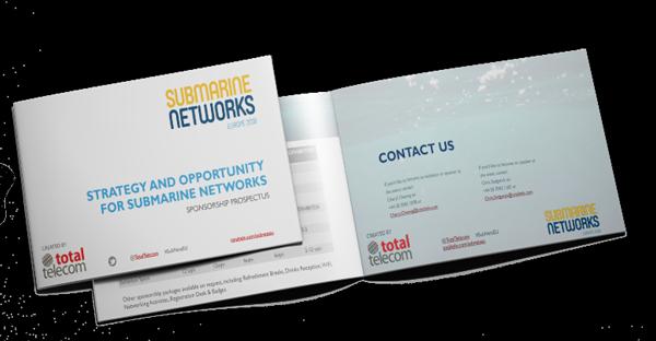 Submarine Networks World Europe 2018 prospectus
