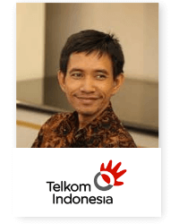 Agung Enriko at Telecoms World Asia 2019 2019
