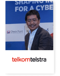 Agus F Abdillah at Telecoms World Asia 2019 2019