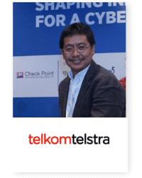 Agus F Abdillah at Telecoms World Asia 2019 2019