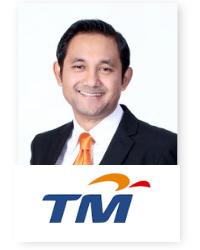 Amar Huzaimi Md Deris at Telecoms World Asia 2019 2019