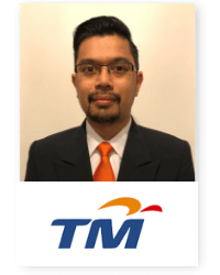 Amirussyahri Ahmad at Telecoms World Asia 2019 2019