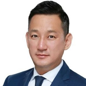 Andy Hyunjoo Lee speaking at Telecoms World Asia