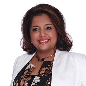Anila Fredericks speaking at Telecoms World Asia