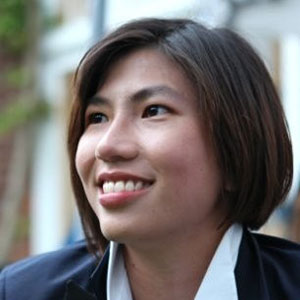 Arisa Siong speaking at Telecoms World Asia