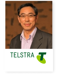 Chris Pu at Telecoms World Asia 2019 2019