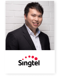 Derrick Ong at Telecoms World Asia 2019 2019