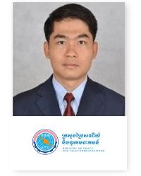 Kamrang Eang at Telecoms World Asia 2019 2019