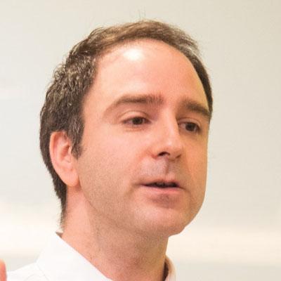 Pedro Uria-Recio speaking at Telecoms World Asia