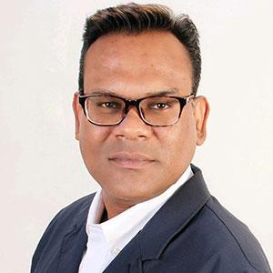 Ritesh Mukherjee speaking at Telecoms World Asia