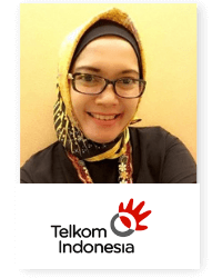 Sri Safitri at Telecoms World Asia 2019 2019