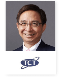 Supot Tiarawut at Telecoms World Asia 2019 2019